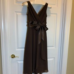 Jones Wear Dark Brown Dress Size 8